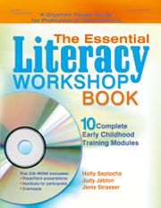 Gryphon House 12365 Essential Literacy Workshop Book