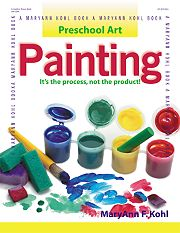 Gryphon House 13596 Preschool Art Painting