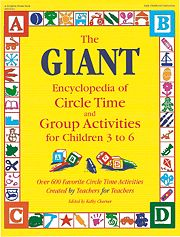 Gryphon House 16413 Giant Encyclopedia Of Circle-Yellow