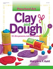 Gryphon House 16928 Preschool Art Clay And Dough