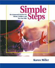 Gryphon House 18274 Simple Steps - Developmental Activities for Infants  Toddlers  and 2 -Year Olds