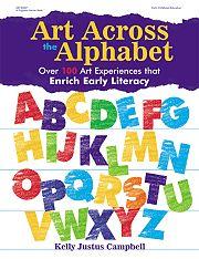 Gryphon House 18396 Art Across The Alphabet