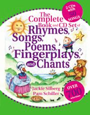Gryphon House 18492 Complete Book Of Rhymes-Book-Cd