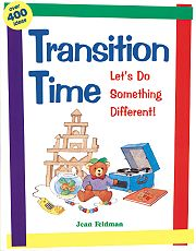 Gryphon House 19844 Transition Time - Let's Do Something Different