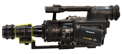 Morovision MVPA-914784G Astroscope 9350BRAC-HVX-3PRO-PINNACLE Night Vision Adapter for Panasonic AG-HVX200 High-Definition Camcorder. Gen 3 PINNACLE