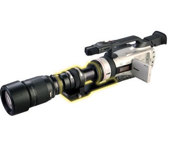 Morovision MVPA-914841G Astroscope 9350-GL2-3LPRO-PINNACLE Night Vision Adapter for Canon GL2 Camcorder. Gen 3 PINNACLE