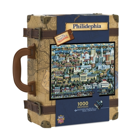 Masterpieces 45048 Philadelphia Dowdle Adult Puzzle- 1000 Pieces