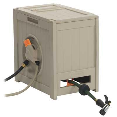 Suncast RSH125D Water Powered Hideaway Crate  - Pack of 1