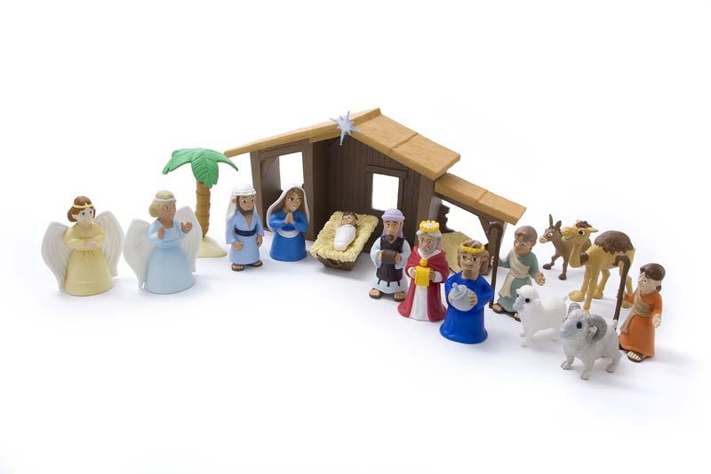 Talicor 6520 Tales of Glory - The Nativity Play Set TAL2180