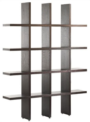 Tag Furnishing 290013 Tic Tac Toe Tall Bookcase in Java