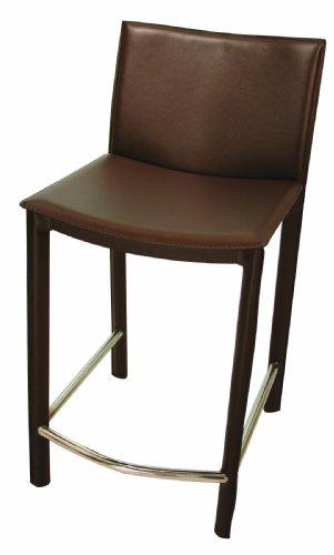 Tag Furnishing 490217 Elston Counter stool in Dark Brown