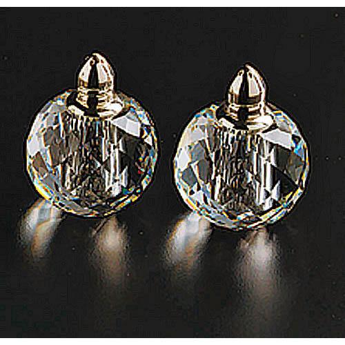 Badash H145G Pair Salt & Pepper-Zendra Gold