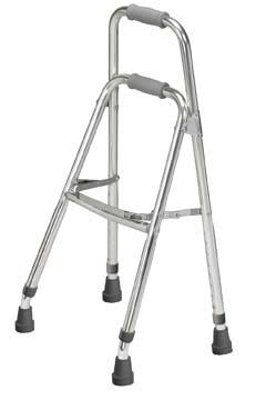 Drive Medical 10240-1 Side Style Hemi One Arm Walker- Chrome