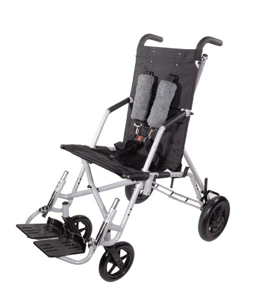 Drive Medical TR 1600 Wenzelite Trotter Convaid Style Mobility Rehab Stroller- Black