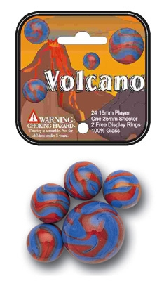 FS-USA 66158 Volcano Player Size Marbles 500-Poly