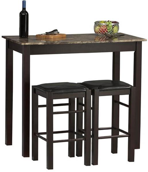 Linon Home Decor Products 02859SET-01-KD-U Three Piece Tavern Set