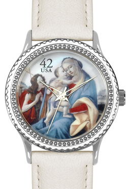 Arjang & Co HY-1022S-CR Botticelli Madonna Round