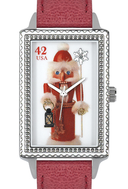 Arjang & Co HY-4020S-RD Nutcracker Santa Oversized Rectangular