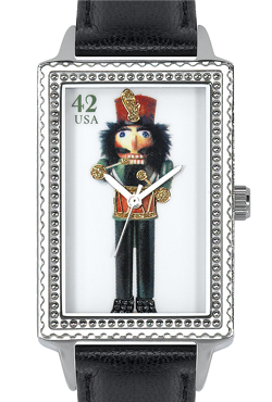 Arjang & Co HY-4022S-BK Nutcracker Drummer Oversized Rectangular
