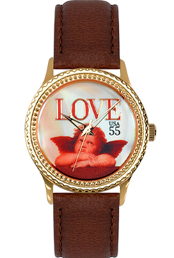 Arjang & Co PS-1002G-DB Love Cupid