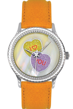 Arjang & Co PS-1008S-YL Candy Hearts