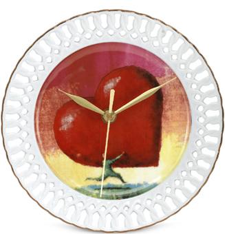 Arjang & Co PS-7502 All Heart Porcelain Wall Clock