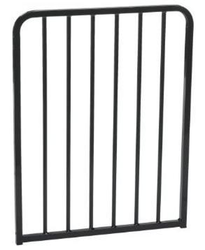 Cardinal Gates BX2-BK 21.75 inch Extension - Black