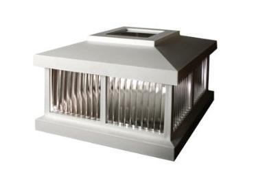 MAYNE LZM625W Mailbox Post Solar Cap - White