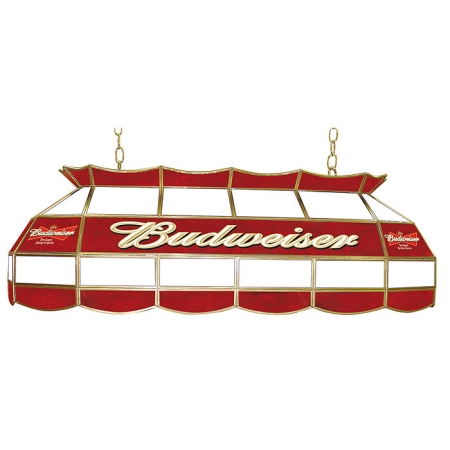 Budweiser 40 inch Stained Glass Pool Table Light