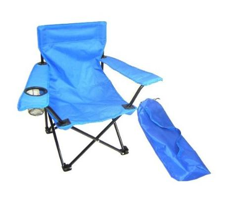 Redmon 9006 BL Folding Camp Chair with Matching Bag- Blue