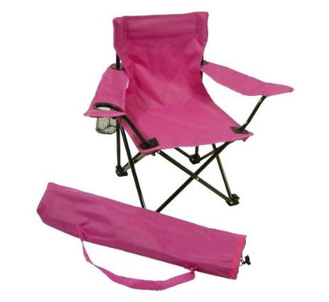 Redmon 9006 PK Folding Camp Chair with Matching Bag- Pink