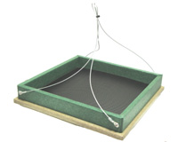 Hanging Platform Feeder Hunter Driftwood
