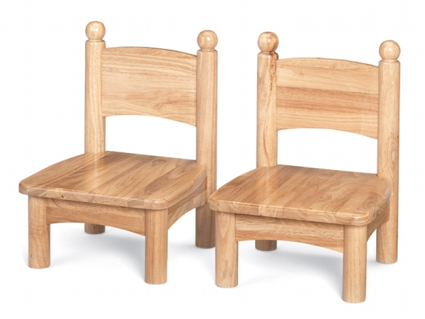 Jonti-Craft 8947JC2 Jonti-Craft Wooden Chair Pairs- 7 inch Seat Height