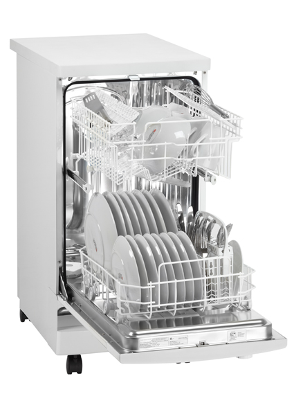 Danby DDW1899WP 18apos;apos; Portable Dishwasher White