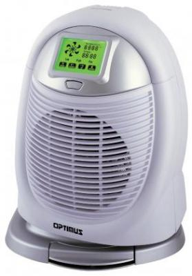 Optimus H 1410 Oscillating Touch Screen Digital Heater Fan