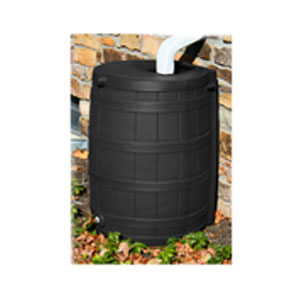 50.44 Gallon Rain Wizard - Black  - 46342