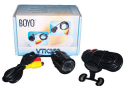 Boyo VTK350 Hi-Res Keyhole Style Universal Rearview Back-Up Camera with Night Vision