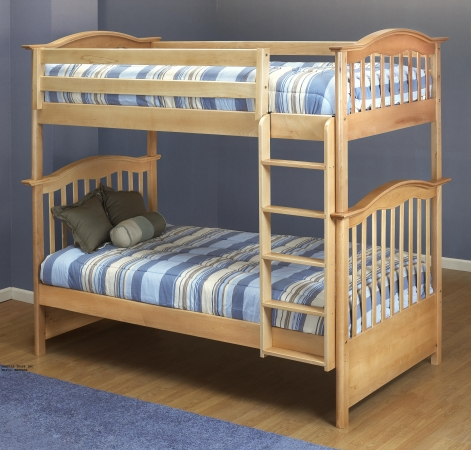 Orbelle Trading BB480N Bunk Bed- Natural