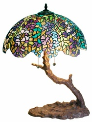 Warehouse Of Tiffany 1686-BB449 Tree Lamp