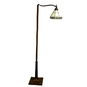 Warehouse Of Tiffany TSC09035- FZ002 Mission Reading Floor Lamp