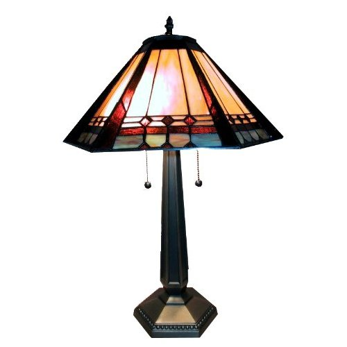 Warehouse Of Tiffany 1803 Mission Style Table Lamp
