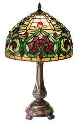 Warehouse Of Tiffany 1669-MB163 Jeweled PetiteTable Lamp