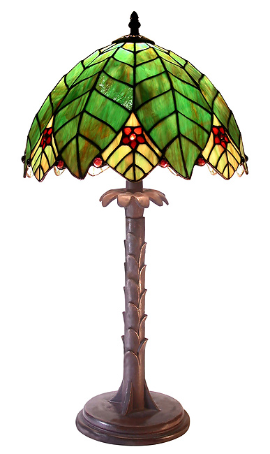Warehouse Of Tiffany 2522-BB700 Tree Shape Table Lamp