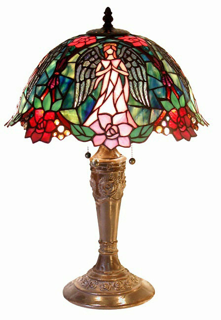 Warehouse Of Tiffany 2856-BB656 Angel Table Lamp