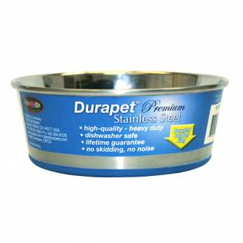 1.2 Pint Durapet Bowl - Stainless Steel  - SS120PB