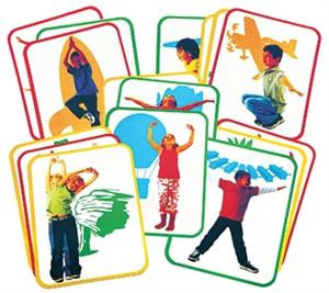 Roylco  Inc. R-62011 Body Poetry Yoga Cards