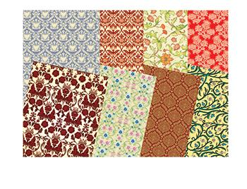 Roylco  Inc. R-15305 Renaissance Era Craft Paper 32 Sheets