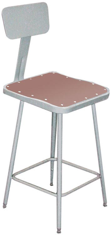 National Public Seating 6318B Sceince Lab Stools