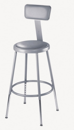 National Public Seating 6418HB Sceince Lab Stools