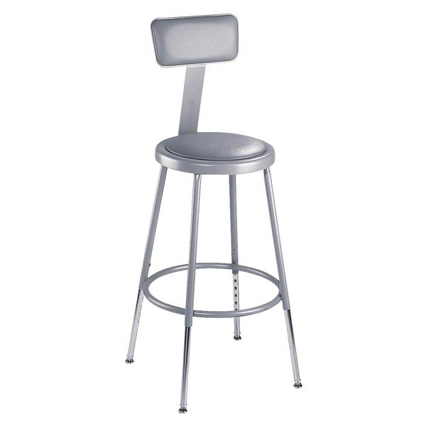 National Public Seating 6424HB Sceince Lab Stools